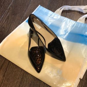 Cole Haan Patent Leather Tortoise Shell Loafers